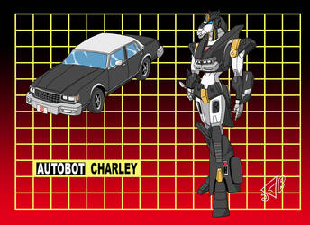 Commission: Autobot Charley by Gryphman