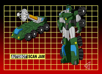 G1 Commission: Scan Jam by Gryphman
