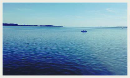 Miedwie, lake :3 by BezNickovva