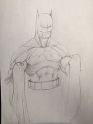 Batman WIP by Temperus