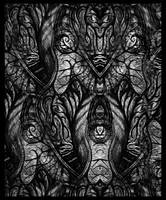 Black Owl by WorlockMolly