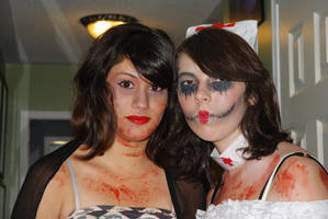Another Picture from Halloween by ClumsyLittleFreak