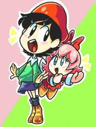 Cutest Duo by SmallDarkBow