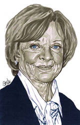 Dame Maggie Smith by s-carter