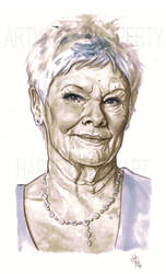 Dame Judi Dench by s-carter