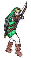 Classic Link stance by Aureawolf