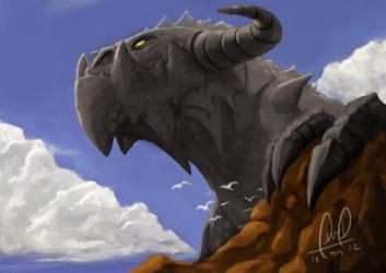 Black Dragon by Fernando9121988