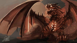 Dragon Rojo by Fernando9121988