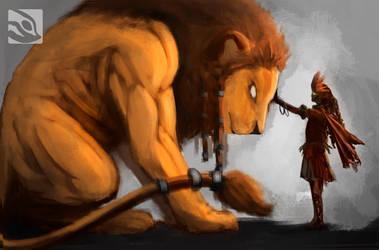 AFRICAN LION by Fernando9121988
