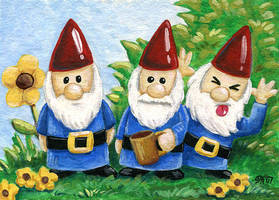 Gnomes - ATC by spiraln