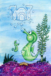 Seahorses by spiraln