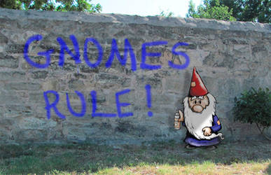 Gnomes Rule by spiraln