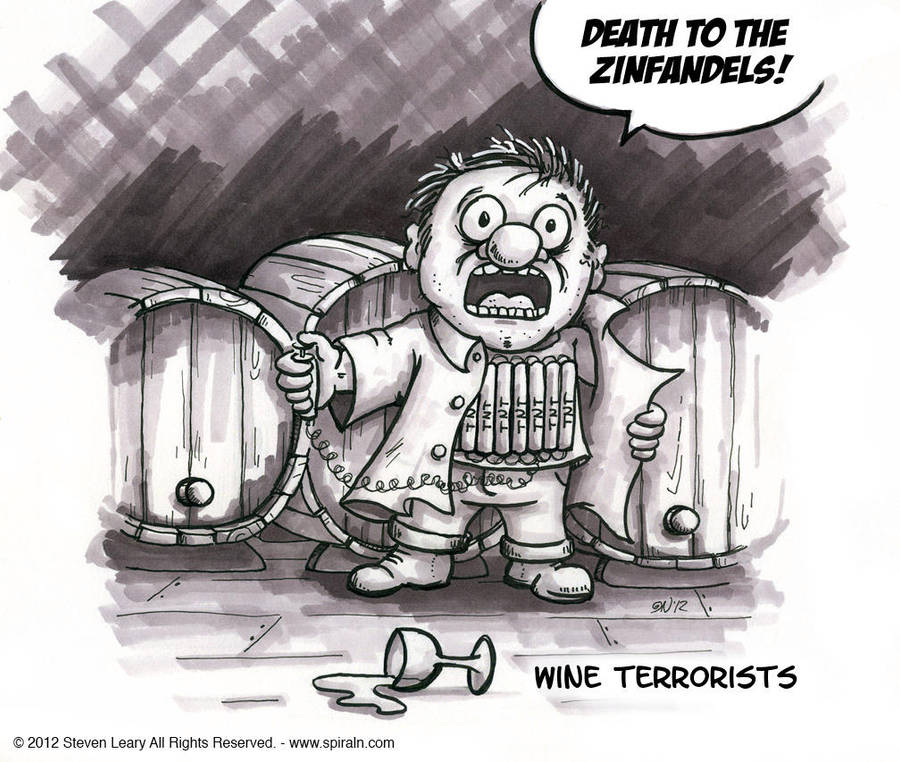 Wine Terrorist by spiraln