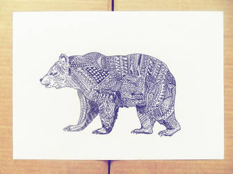 Hipster filter bear by WebagentOnAir