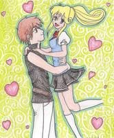 .Kilala and Rei. by Alexia33024