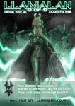 LlamaLAN IX: Official Poster by recurring