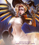 Mercy NSFW ver by Emerald--Weapon