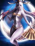 Tsukuyomi FFXIV nsfw promo by Emerald--Weapon