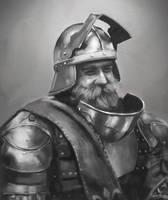 Knight Portrait by jackfrozz