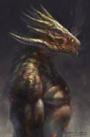 Dragon Dude by jackfrozz