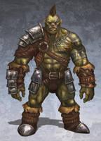 Orc Concept: Xug by jackfrozz