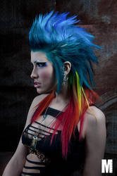 Punk Hair. by Ryo-Says-Meow