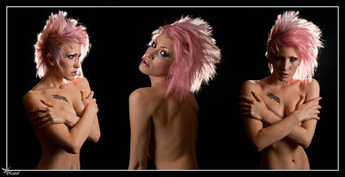 Pink hair shot by Ryo-Says-Meow