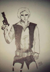 Han Solo Jr. by Mkemaster
