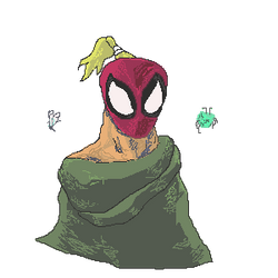 Dragon Mountain Spider-Man by Mkemaster