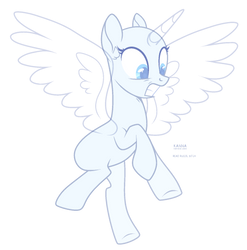 flying horse by TeePew