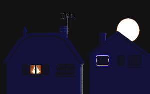 Town in the night by dbug
