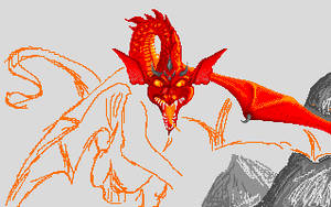 Smaug the dragon by dbug