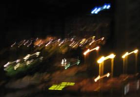 Swinging lights by dbug