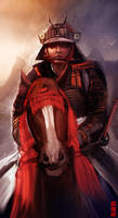 Samurai by Byzwa-Dher