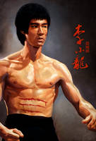 Bruce Lee by Byzwa-Dher