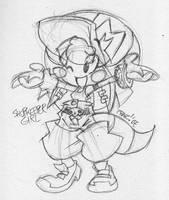 Goblin Shopkeep Girl by EnterPraiz