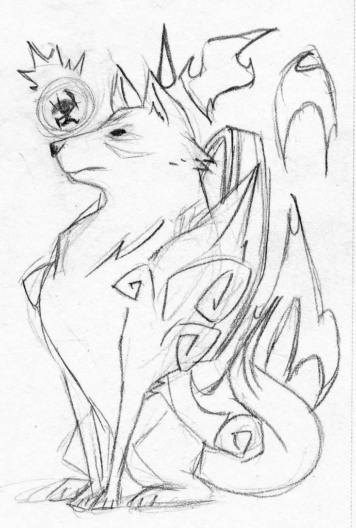 Annoyed Amaterasu by EnterPraiz