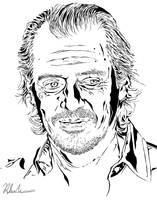 Steve Buscemi by OldeCatfish