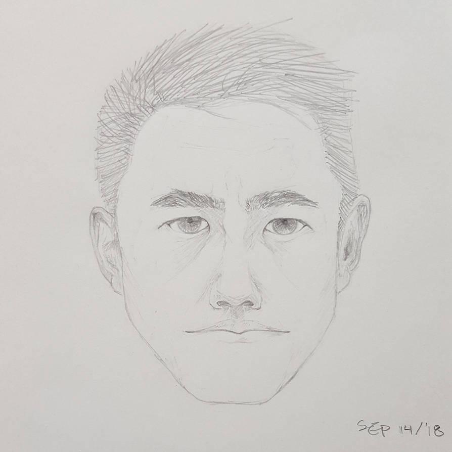 Face Sketch by Kafuta