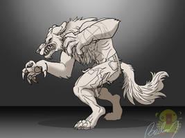 Werewolf Scetch 001 by MyHandsAreCrazy
