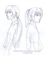 kenshin and kenji by elpheal