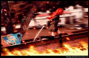 Flaming Speed by elpheal
