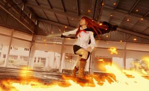 Fire slash by elpheal