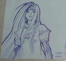 Millia Rage doodle by elpheal