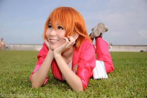 Smiling Kyoko by elpheal