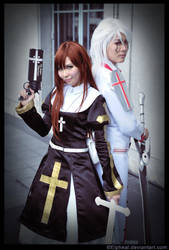 The Nun and the Demon by elpheal