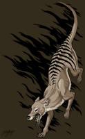 Return of the Thylacine by Emchromatic