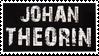 Johan Theorin stamp by Aussienka