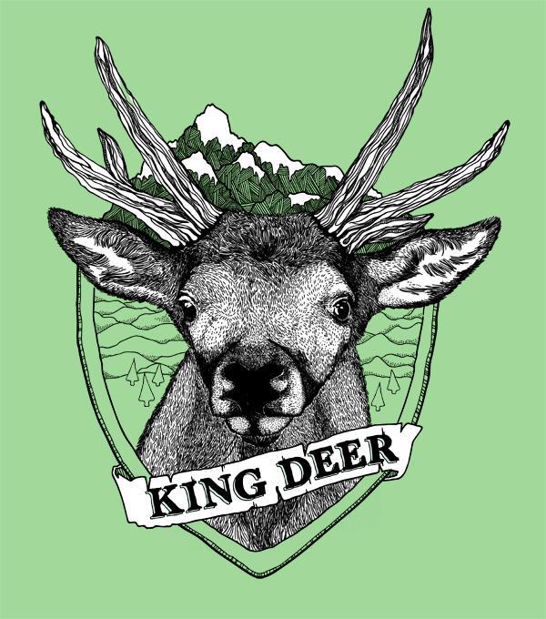 King Deer By Rockst3ady On Deviantart