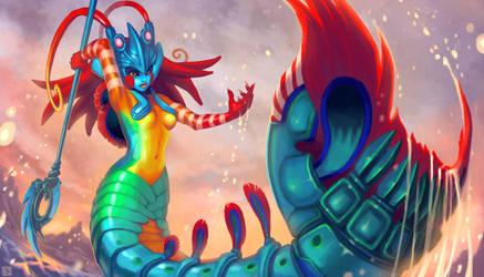 Mantis Shrimp Nami by Kuthinks